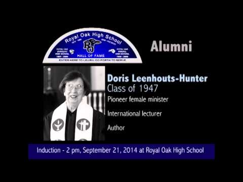 Royal Oak High School 2014 Hall of Fame Inductees