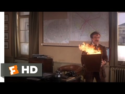 Trail of the Pink Panther (3/11) Movie CLIP - Office Fire (1982) HD