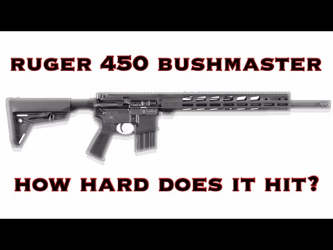 Ruger 450 Bushmaster REVIEW! - YouTube