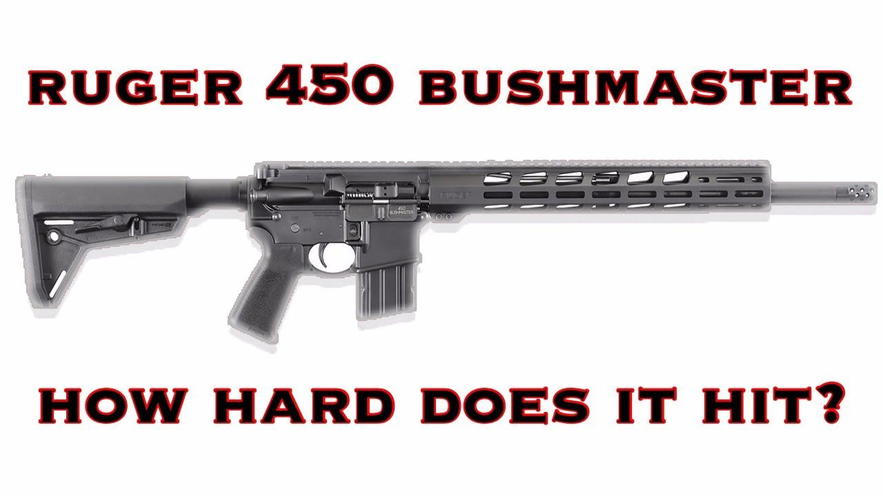 Ruger 450 Bushmaster REVIEW!