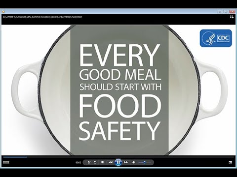 Four Steps (Clean, Separate, Cook, Chill) to Food Safety