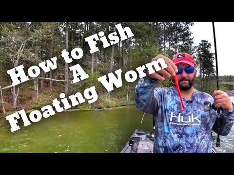 How To Fish A Floating Worm For Bass