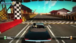 Kinect Joy Ride - Dash - Badlands Freeway