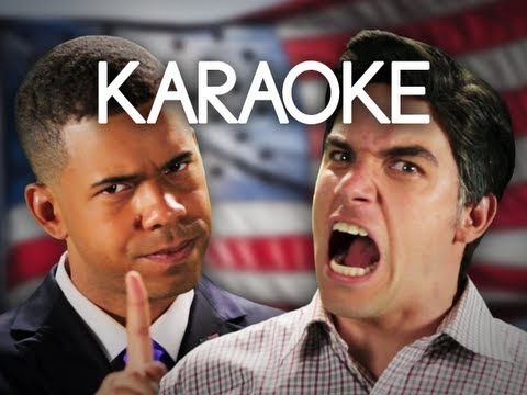 [KARAOKE ♫] Barack Obama vs Mitt Romney. Epic Rap Battles of History. [INSTRUMENTAL]