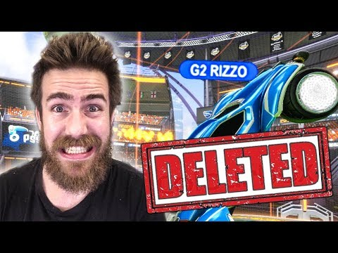 SIZZ AND RIZZO THOUGHT I DELETED THIS ROCKET LEAGUE VIDEO...