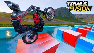 TRIALS FUSION - Custom Ninja Tracks #6  [Ninja level 3 & 4]