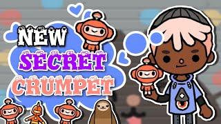 TOCA LIFE WORLD NEW SECRET CRUMPET  A cute Orange Robot Crumpet  TOCA BOCA
