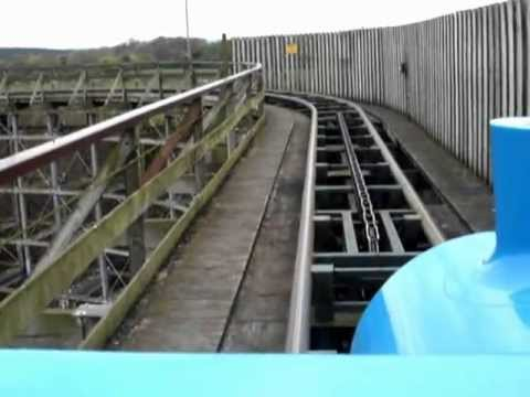 Europe's longest Roller Coaster. The Ultimate, Lightwater Valley POV