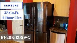 Samsung 28 cu. ft. 4-Door Black Stainless Refrigerator with FlexZone