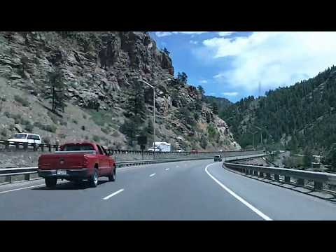 Mountains to City: Frisco to Denver via Interstate 70, Eisenhower Tunnel Time Lapse Drive