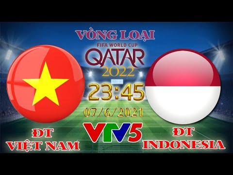 Download VTV5 trực tiếp ĐT Việt Nam vs ĐT Indonesia | Vòng loại World 2022