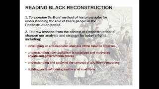 Reading Black Reconstruction, Part One