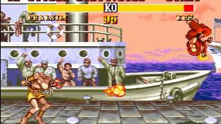 Longplay [270] Genesis Street Fighter II Plus - Champion Edition