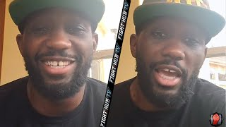 "TERENCE CRAWFORD ""I WANT ERROL SPENCE TO SHUT EVERYONE UP! DANNY GARCIA CAN FIGHT HIS A** OFF!"""