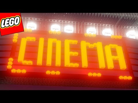 LEGO Worlds PT BR #95 - CONSTRUÍ UM CINEMA PARTE 03 (FINAL)