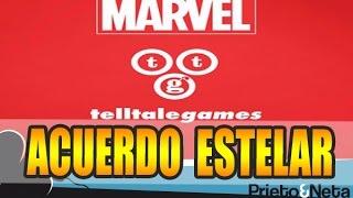 ACUERDO ESTELAR    Marvel y Telltale Games preparan un juego para 2017