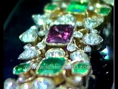 Stunning jewellery collection of Nizam of Hyderabad