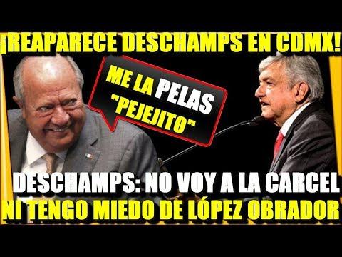 ¡REAPARECE DESCHAMS EN CDMX! COMENTA NO TENERLE MIEDO A AMLO - ESTADISTICA POLITICA