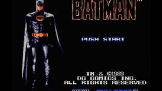 Batman (NES) Music - Game Over