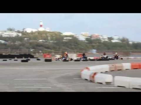 #3 Karting Racing Bermuda February 5 2012
