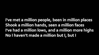 Repeat youtube video Jake Miller - A Million Lives (Lyrics)