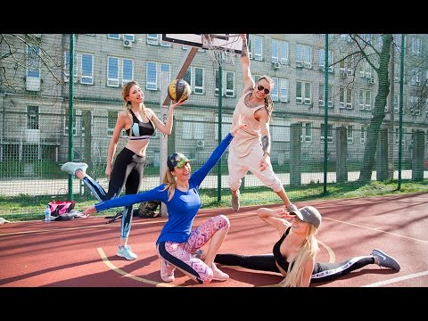 BASKETBALL CHALLANGE z Fit Lovers! Speed drawing by Madeline Gavi