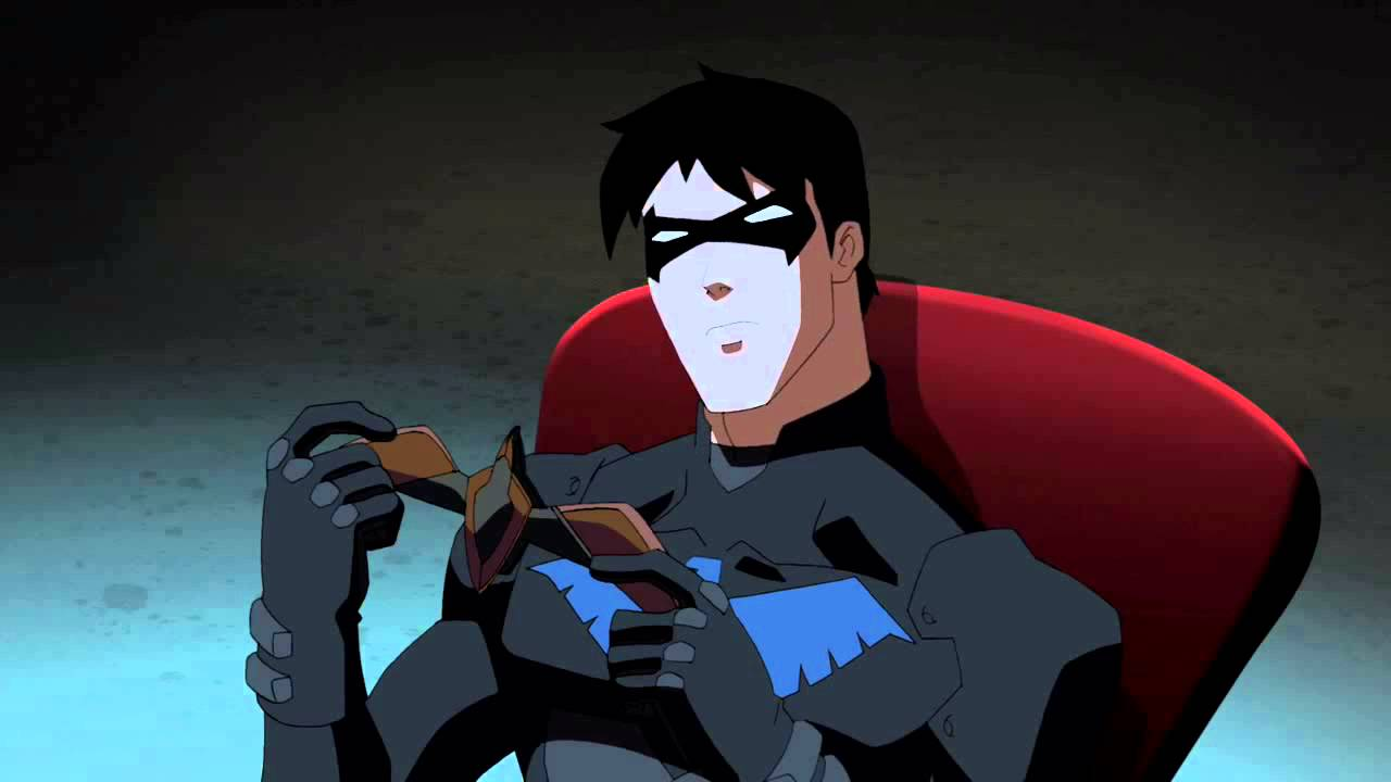 Cute Baby Flying Kiss Wallpaper Young Justice Nightwing Squint Youtube