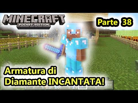 Minecraft PE - Armatura Di Diamante INCANTATA! - (Salvo Pimpo's)