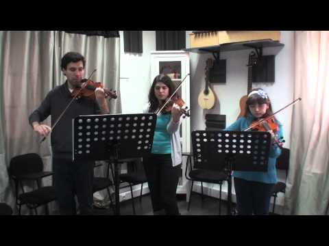 Ensemble Violino Adérito Amaral Mariana Rodrigues prof. Sofia Grilo Clocks Christine Myers Março 2013 Travel Video