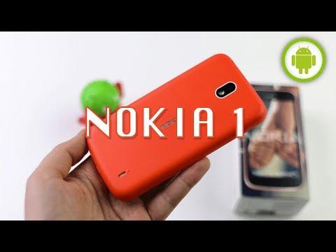RECENSIONE NOKIA 1 (Android Go): l'importante è avere pazienza