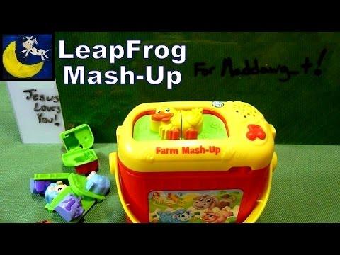 Leapfrog Farm Animal Mash Up Toy Set Review Youtube