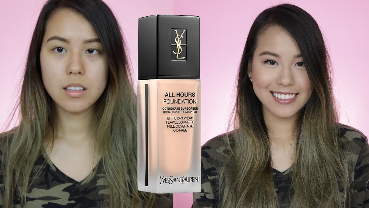 5fd5a6c7b07f2 *New* YSL All Hours Full Coverage Matte Foundation Review | Oily Skin |  AlisonHa