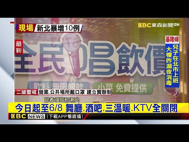 最新》新北市府下禁令!八大場所全面停止營業 @東森新聞 CH51