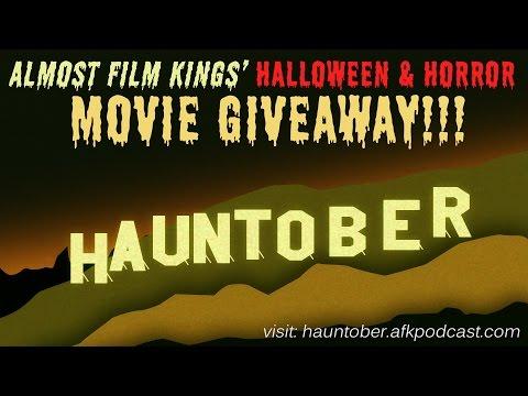 Almost Film Kings Hauntober 2016 | Movie Giveaway