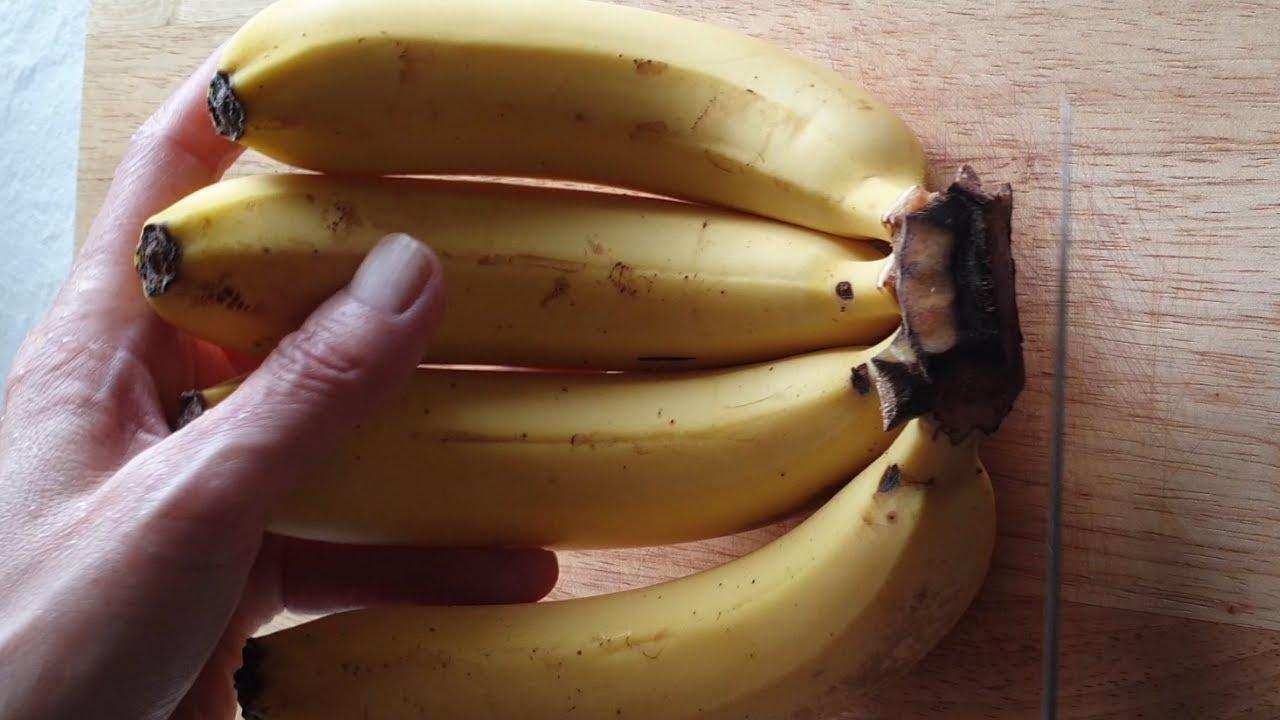 바나나 이렇게 냉장 보관하세요.