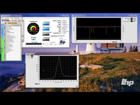 Engine Control Demo - Combustion Analysis System