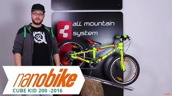 CUBE KID 200 - Kinderfahrrad |  Kid Bike - 2016