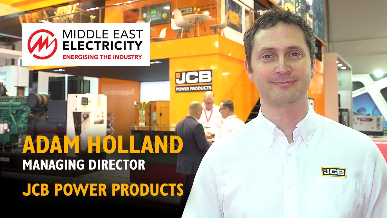 JCB Power Products Generators at Middle East Electricity 2019