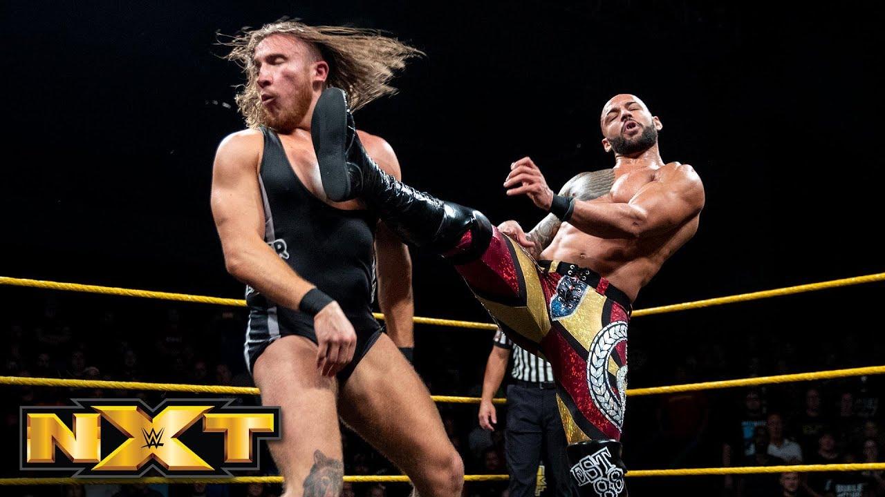 Ricochet vs. Pete Dunne - Champion vs. Champion Match: WWE NXT, Sept. 19, 2018