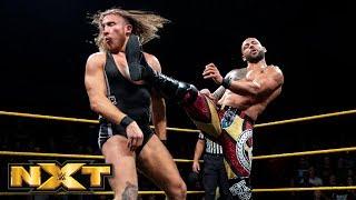 Ricochet vs. Pete Dunne - Champion vs. Champion Match: WWE NXT, Sept. 19, 2018 thumbnail