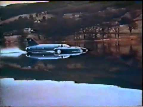 Bluebird K7 Disaster January 4th 1967 (Colour Footage)