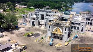Aerial Drone Video of The BIGGEST House In Tampa