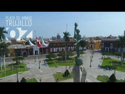 TRUJILLO [Ciudad de la Eterna Primavera desde un drone] Perú 2017 HD