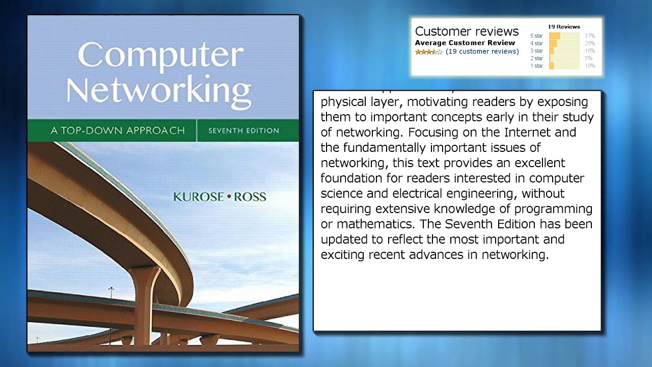 kurose computer networking 3rd ed pearson pdf