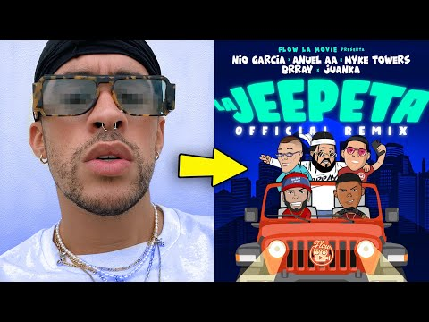 "Bad Bunny iba a estar en ""La Jeepeta Remix"" ¿Por que no salió?"