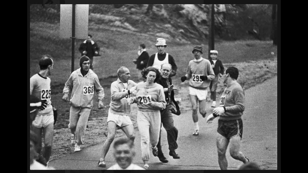 primera mujer correr un maraton