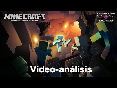 Minecraft Análisis Sensession HD capturas PS4