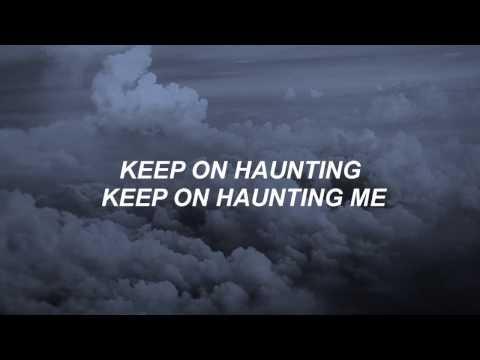 Halsey - Haunting // lyrics