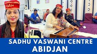 ABIDJAN SADHU VASWANI CENTRE #dadaJPvaswani | Indians In Abidjan | Brown And Strong