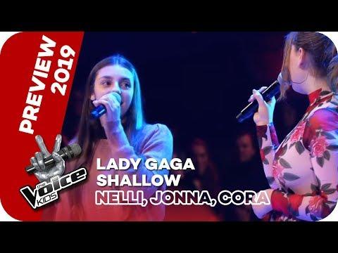 Lady Gaga - Shallow (Nelli, Jonna, Cora)   Battles   The Voice Kids 2019   SAT.1